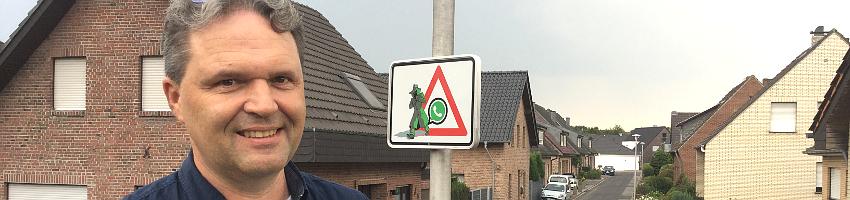 René H.R. Bongartz, WhatsApp-Nachbarschaftsschutz