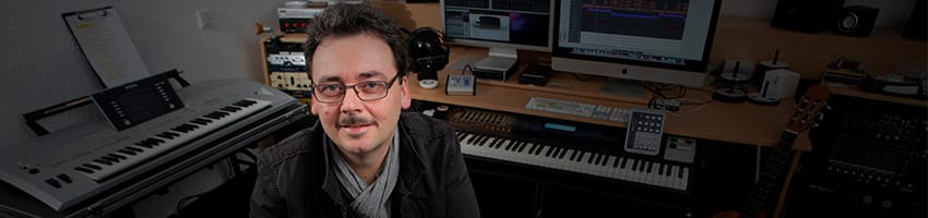Roland Zetzen, Tonstudio